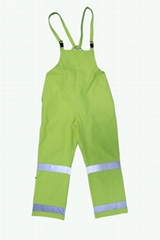 High Visibility Flame Resistant Overall