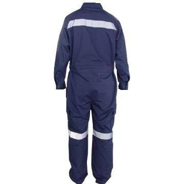 Water Repellent and Oil Resistant Flame Retardant Coverall 2