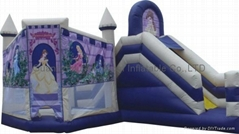 inflatable princess slide