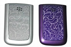 Blackberry Torch 9800 Battery Cover Classical Flower