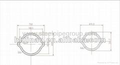 lemon steel tube transmission carbon seamlss steel pipe