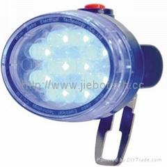 LED blue miner signal light
