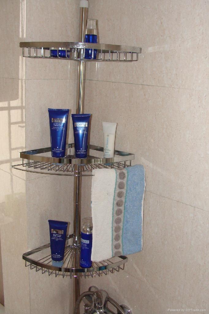 bathroom pole shelf 1
