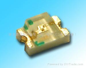 供应0805黄绿贴片发光二极管 1