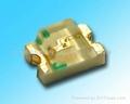供应0805黄绿贴片发光二极管