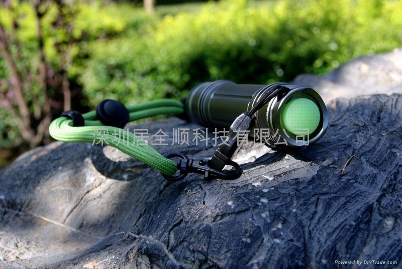 神火SuPFire S2 迷你小型強光手電筒 4