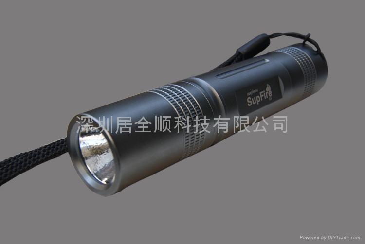 SupFire S5新款直筒超小型強光手電 2