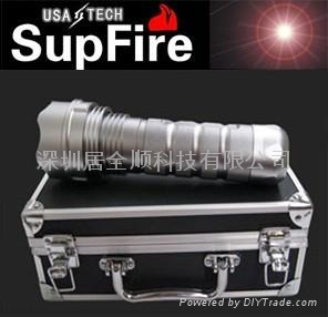 供應強光手電筒 HID-24氙氣手電筒 24W 1