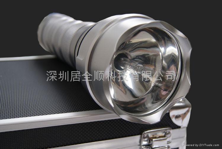 供應強光手電筒 HID-24氙氣手電筒 24W 4