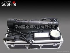 SupFire HID-35超高亮度手電筒