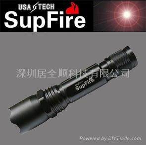 美國CREEQ5 C2型 恆流驅動 260流明強光手電筒  5