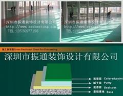 環氧樹脂地坪防靜電地板