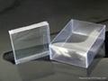 PVC透明彩色塑料膠盒 1