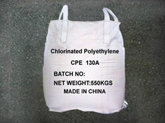 CPE130A special chlorinated polyethylene (CPE) resin for magnetic rubber compoun