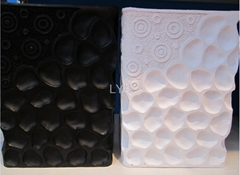 Stone-made Black and White Ceramic
