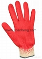 Latex coated cotton gloves 2