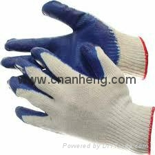 Latex coated cotton gloves 3