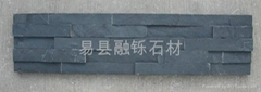 chinese black slate stone for wall cladding