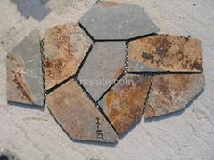 flagstone mat mesh stone tile