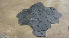 黑色网贴/ 黑板岩网贴