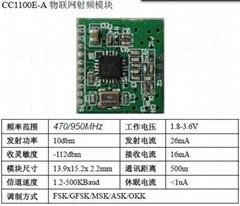 CC1100無線模塊