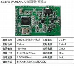 CC1101+PA無線收發模塊