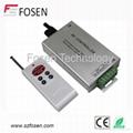 6-kye wireless remote audio rgb led