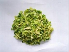 dehydrated cabbage flake10*10mm 15*15mm
