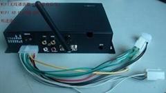 无线WIFI网络广告机播放盒