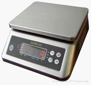 Waterproof weighing scale 1