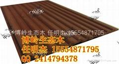 博岭生态木绿可木厂家150小圆板价格