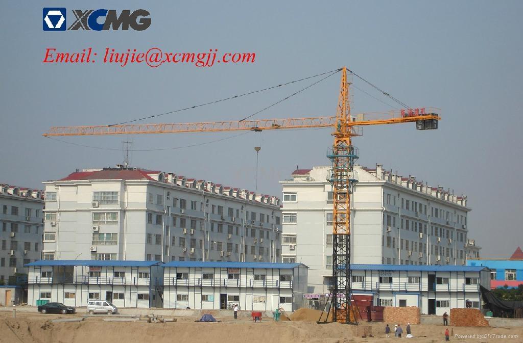 Hammerhead Tower Crane Tower Crane Qtz63 5512y 4