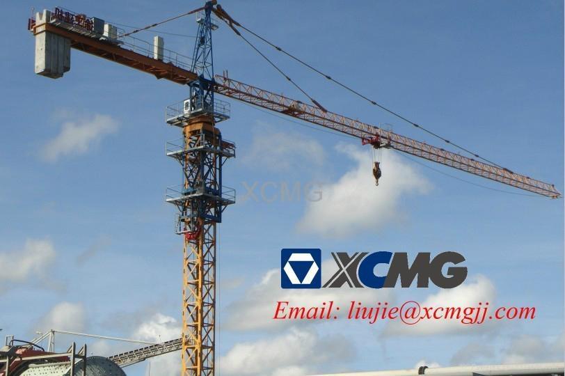 Tower Crane Climbing : Xcmg self climbing tower crane qtz y china