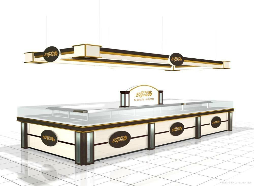 单个展柜手绘效果图; 珠宝展柜北京展柜展柜制作展柜厂; 珠宝展柜