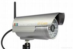 WiFi Wireless IR IP Camera With Ircut (NCB-543W)