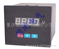 重慶德圖交流電壓表DTU4U-9P1 DTU4U-DP1