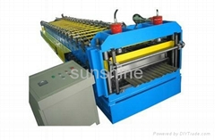 roofing and wall color tile roll forming machine