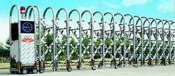 Stretching Stainless Steel Gate 1