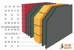 邦提A级防火超薄石材装饰保温一体板