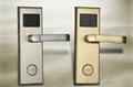2011 electronic RFID card hotel door lock LT-100RF 1