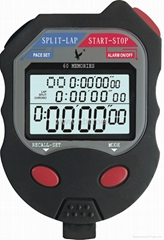 Digital stopwatches