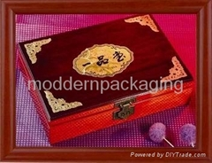 classic cosmetic tea jewelrywooden gift packaging box