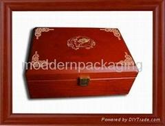 luxury jewelry wooden packaging box