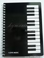 Music note book