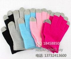 iphone / ipad touch gloves , smart gloves