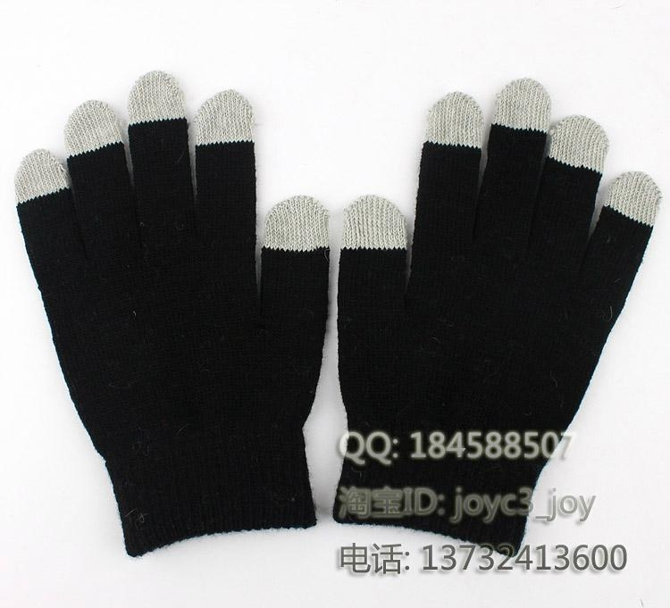 iphone / ipad touch gloves , smart gloves  3