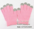 iphone / ipad touch gloves , smart gloves  4