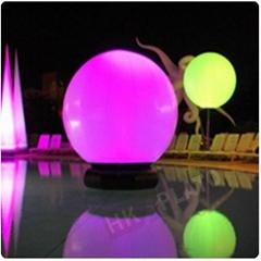 inflatable advertising LED light balloon
