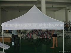 Aluminum Gazebo and high peak tent