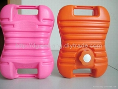 2L plastic HDPE blow molding hot water bags